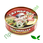 Скумбрия в томатном соусе